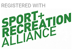 We're Registered With Sport Recreation Alliance