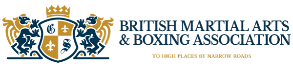 The British Martial Arts & Boxing Association (BMABA) logo